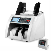 New Design Front Loading Bill Counter UV/MG/IR/DD Detection Money Counting Machine Semi Value Counting Cash Counter LCD Display