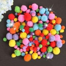 Товары для творчества мягкий плюшевый шар пушистые Помпоны детей