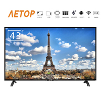 free shipping hot sale led tv 4k smart oled falt screen television android portable tv