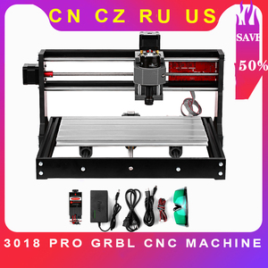 CNC Machine 3018 Pro GRBL DIY Mini CNC router 3 Axis Pcb Milling Cutter Machine Wood Router Engraver with Offline Controller