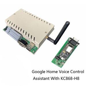 Image 4 - جوجل الرئيسية التحكم الصوتي مساعد نوديمكو ESP8266 وحدة النظام الذكي اللاسلكية واي فاي IOT مجلس التنمية