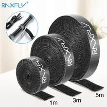 1/3/5M Raxfly Ultra ince mikro yumuşak naylon kanca tokalı bandaj döngü raptiye sihirli bant klip tutucu kablo bağları askı #1229