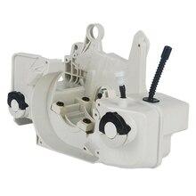 Yağ yakıt gaz tankı karter motor için konut Fit Stihl 023 025 Ms 230 Ms 250 testere