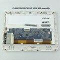 Оригинальный Новый CLAA070NC0DCW HD 1024*600 7 дюймов ЖК-дисплей дисплей экран внешний экран стекло экрана ноутбука с рамкой Белый