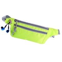 Waterproof outdoor functional Running Waist Bag Sport Packs For Music With Headset Hole Fits Smartphones