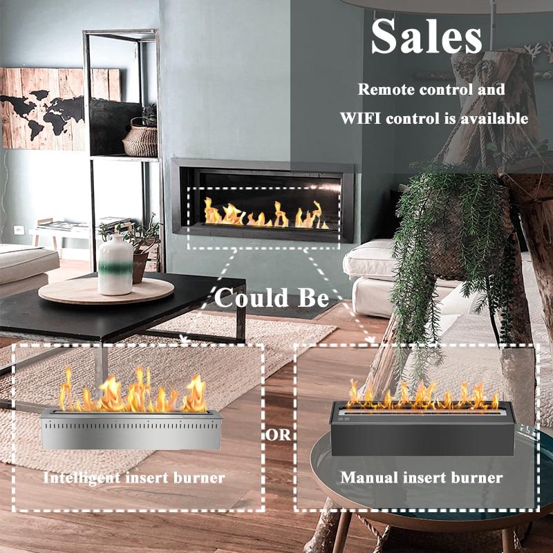 24 Inch Indoor Modern Fireplace Bioethanol Fireplace Burner