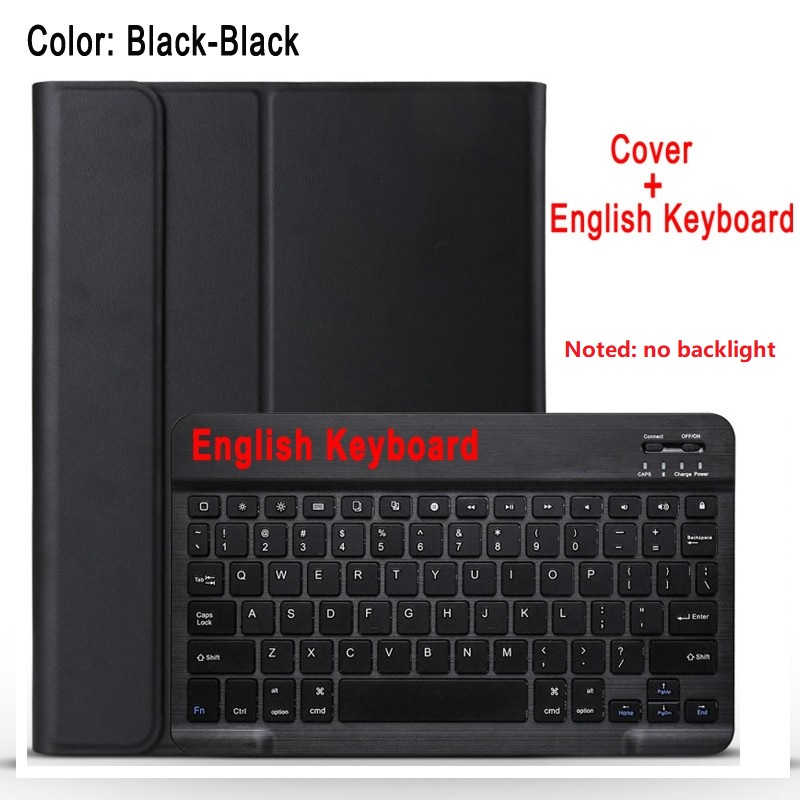 black with black Blue For IPad 10 2 8 7 Generation 8th 2020 Case A2200 A2198 A2232 Slim Magnetic Bluetooth
