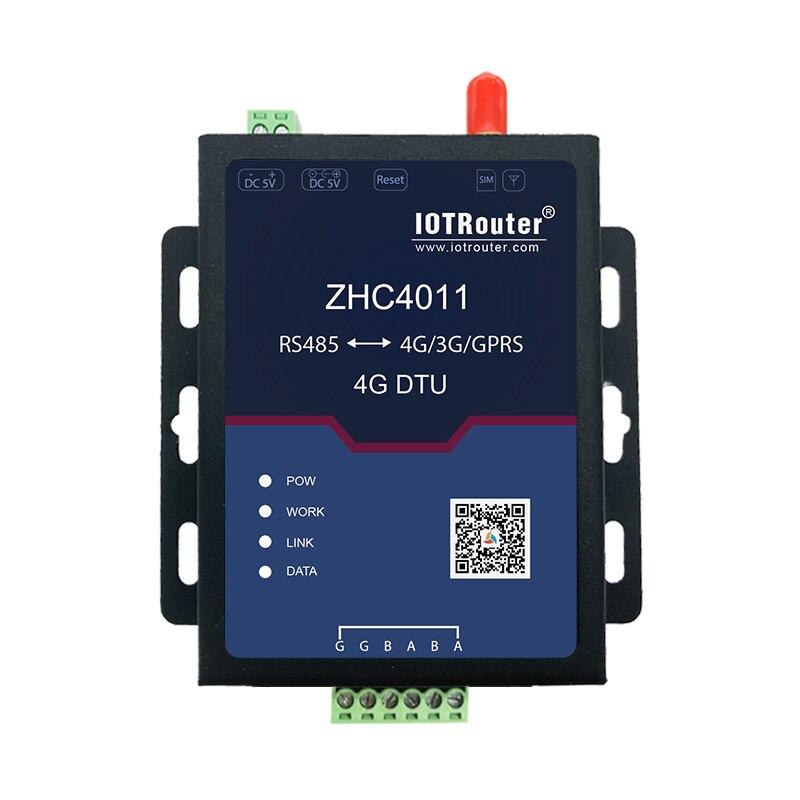 Quatro-to-485 Sete-modo Full-rede Servidor Através de Terminais de Comunicação Sem Fio Módulo de Comunicação Serial DTU ZHC4011