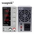 Wanptek Lab DC Regelbare Voeding 120V 30V 6A 10A Digitale Switching Voltage Regulator Stabilisatoren Voedingen