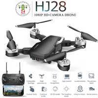 HJ28 Mini Drone pliable professionnel avec caméra 1080P grand Angle WiFi FPV maintien d'altitude RC quadrirotor hélicoptère jouet X12S E58