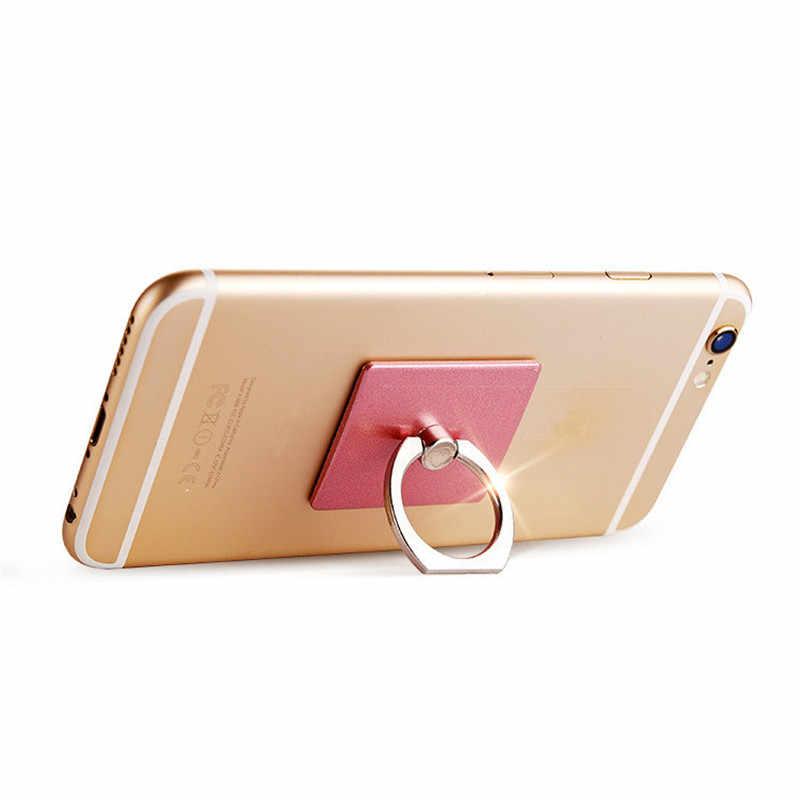 ポータブルユニバーサル金属指リング電話ホルダー 360 Dgree 回転 Iphone サムスンの携帯電話ホルダー