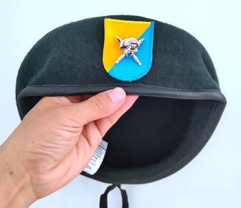 Nowa armia amerykańska 8 Siły specjalne grupa wełna zielony Beret siły specjalne insygnia czapka wojskowa czapka 1963 ~ 1972 tanie i dobre opinie CINESSD Z wełny CN (pochodzenie) Dla dorosłych Stałe Formalne