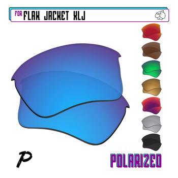 EZReplace Polarized Replacement Lenses for - Oakley Flak Jacket XLJ Sunglasses - Multiple Options toughasnails polarized replacement lenses for oakley split jacket sunglasses multiple options