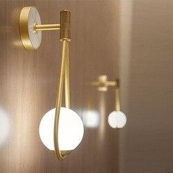 Loft nicho de parede oświetlenie łazienkowe kryształowy salon sypialnia jadalnia cabecero de cama home deco|Wewnętrzne kinkiety LED|Lampy i oświetlenie -