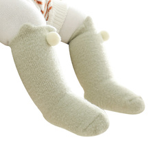 Newborn Socks Infant-Accessories Toddler Girls Boys Winter Cute Plush Thick