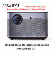 Original XGIMI H2 proyector de cine en casa 300 pulgadas Full HD 1080P 3D Android con Bluetooth Wifi Suppor4K DLP TV Beamer