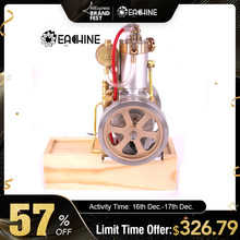 Eachine ETX Hit Miss Gas Vertical Engine Stirling Engine Model Upgraded Water Cooling Cycle RC Helicopters Engine Collection(China)