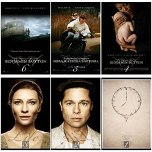 The Curious Case of Benjamin Button Movie Home Decorative Painting White Kraft Paper Poster 42X30cm the curious case of benjamin button and other stories level 3 cd rom