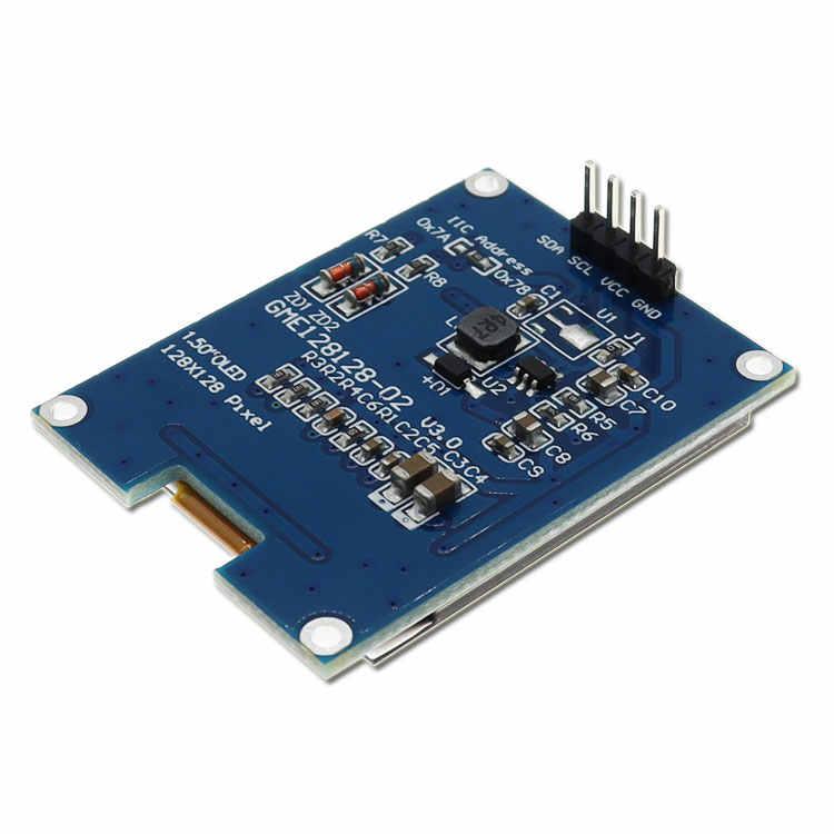 1.5 インチ 128 × 128 oled シールドスクリーン STM32 ためのためのラズベリーパイ arduino のための