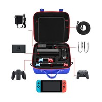 EVA Storage Bag Carrying Case For Nintend Switch Accessories NS Switch Joy cons Controller Water resistent Protective Shell Case