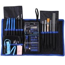 81 in 1 Reparatie Tool Sets Precisie Schroevendraaier Set voor iPhone Laptop Computer Mobiele Telefoon Elektronica Reparatie Handgereedschap Kit