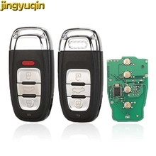 jingyuqin Smart Remote Key 315/433/868MHZ 8T0 959 754C for For Audi Q5 A4L A5 A6 A7 A8 RS4 RS5 S4 S5 3/4 Button Keyless