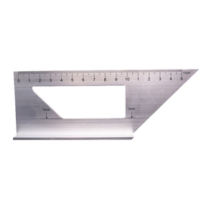 Multifunctional Square 45/90 Degree Gauge Angle Ruler Measuring Woodworking Tool