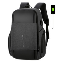 Casual Business Men Computer Backpack Light 15.6 inch Laptop Bag 2019 Lady Anti theft Travel 21L Backpack Gray