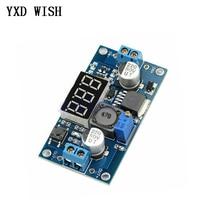 LM2596 DC-DC Step Down Module DC DC Adjustable Voltage Regulator LED Voltmeter 4.0~40V to 1.25-37V Buck Adapter Power Supply