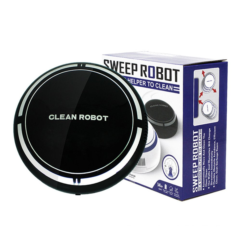 Small Size Environmental Smart Household Cleaning Robot Battery Powered Automatic Clean Robots Sweep Robot Device