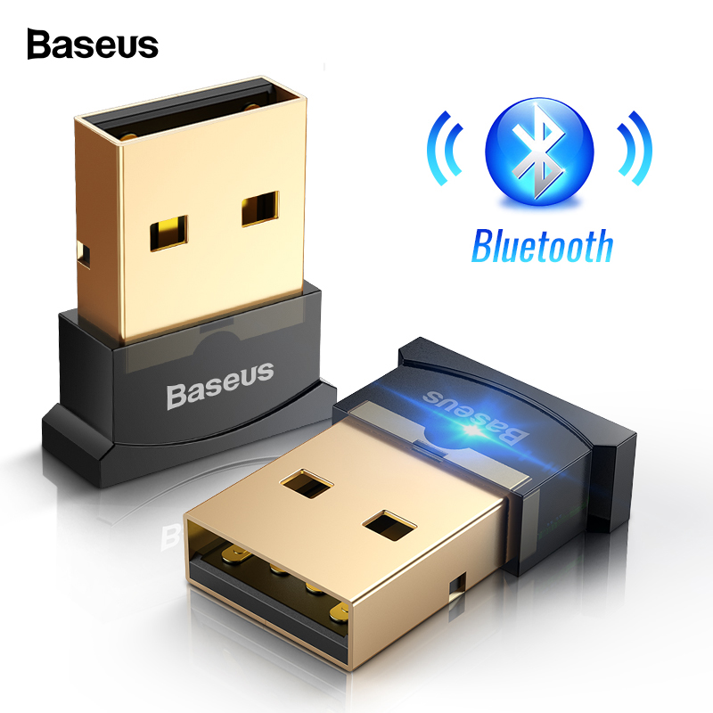 Baseus USB Bluetooth Audio Transmitter Receiver 4.0 Wireless Adapter For Computer PC Mouse Audio Bluetooth Receptor Adaptador