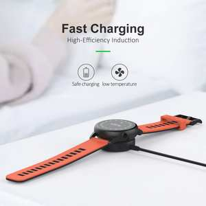 Watch Charger For Samsung Galaxy Watch Active2 40mm 44mm accessoires Portable Wireless Fast Charging Power Source Charger