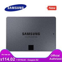 Samsung ssd 860 qvo 1tb disco rígido interno de estado sólido hdd sata3 2.5 polegada portátil desktop pc mlc disco rígido interno