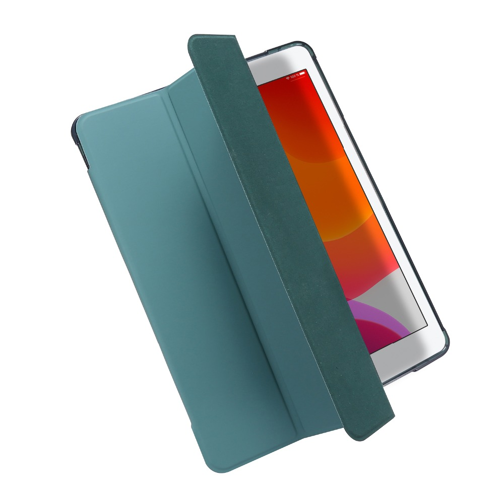 7th-Generation-Case for iPad Light-Color Folding-Cover with Funda Pencil-Holder 10-2-Case
