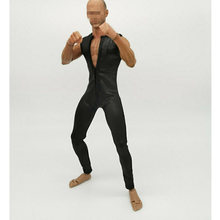 Новое поступление 1/6 Мужская одежда облегающий костюм комбинезоны