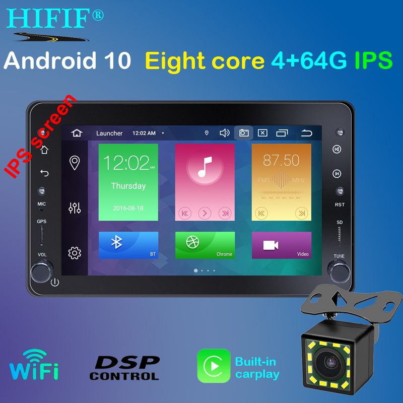 7 One din Android 10 Car DVD Multimedia Navigation Player For Alfa Romeo Spider Brera 159 Sportwagon Stereo 4Core DSP Carplay image