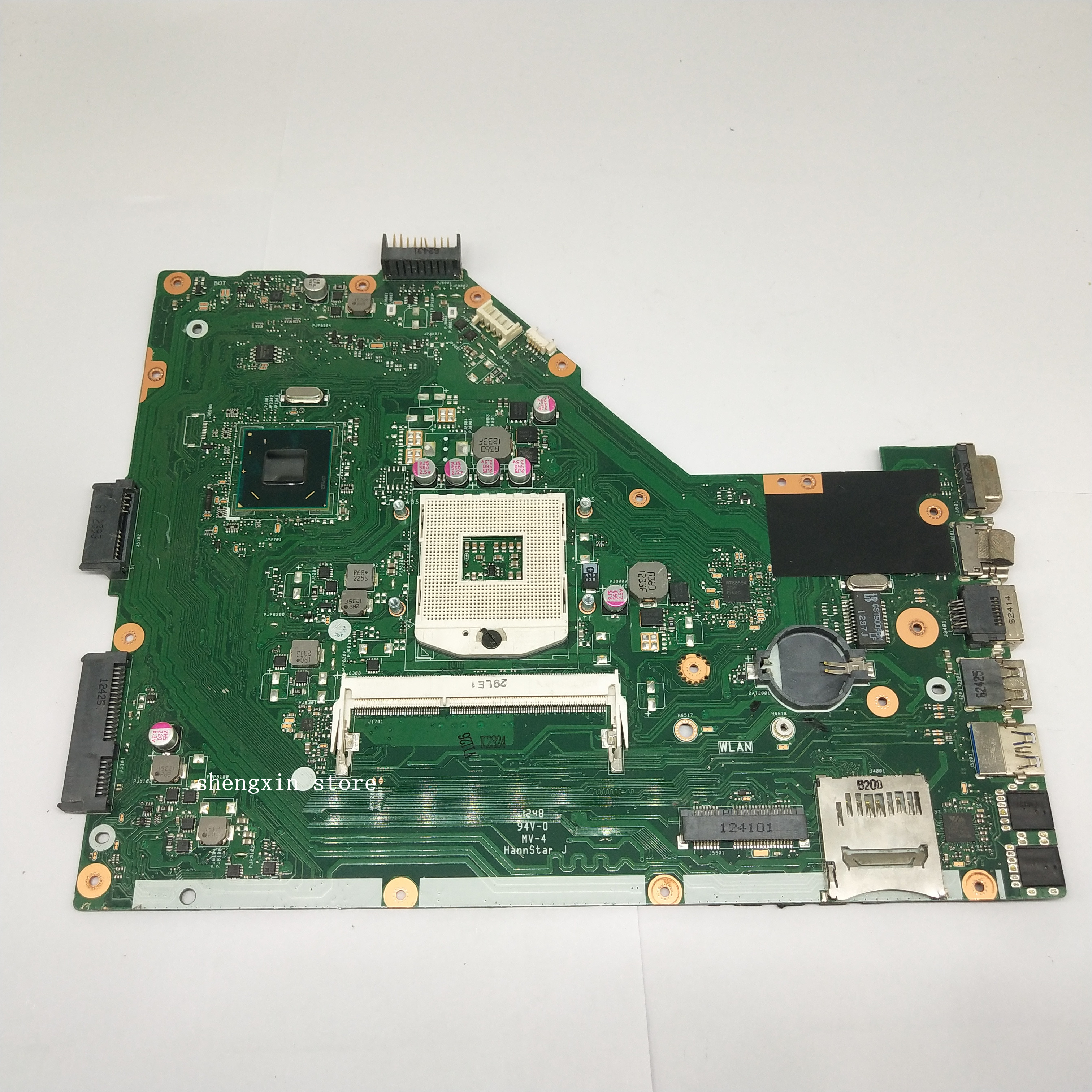 For ASUS <font><b>X55A</b></font> NoteBook mainboard HM70 REV 2.1/2.2 <font><b>X55A</b></font> Laptop <font><b>motherboard</b></font> test 100% image