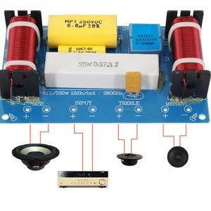 Image 2 - Séparateur de fréquence haut parleur scène accessoires bricolage outil pour haut parleur maison remplacement filtre croisé 3 voies Audio pratique