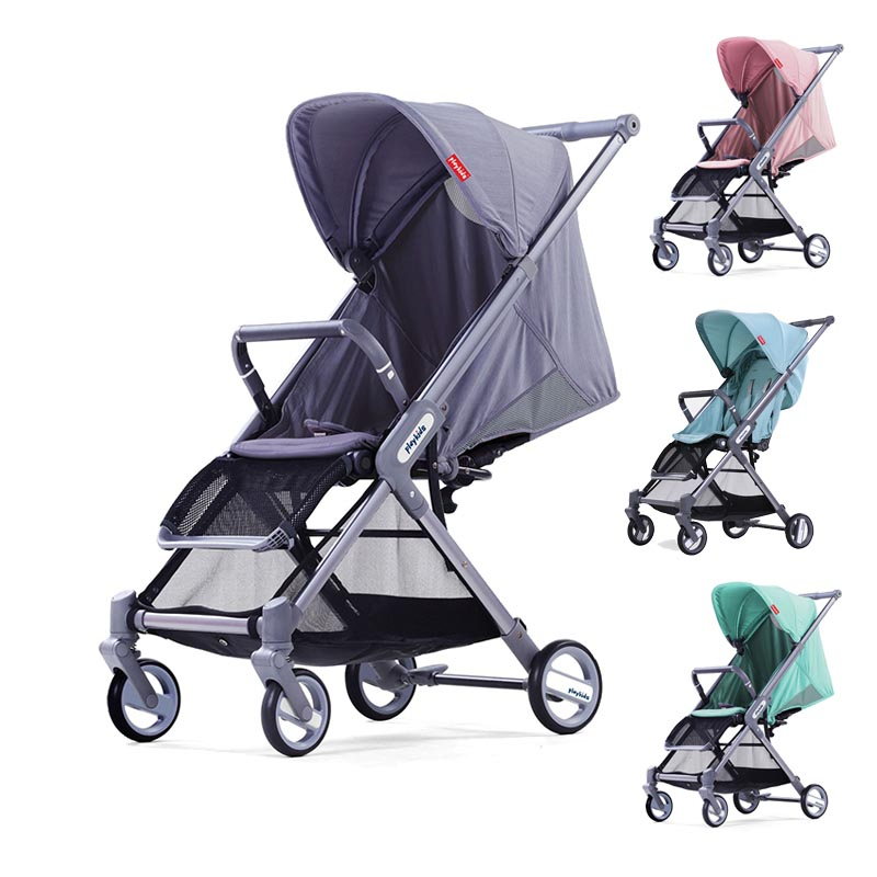 Baby stroller Lightweight Bebe cart High landscape Large capacity Portable Baby trolley  baby car New style Playkids