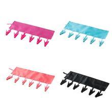 4 шт. складная переносная вешалка тканевые вешалки для галстуков практичные Нескользящие вешалки для одежды Полотенца Вешалка для носков для гостиницы путешествия