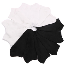 10pcs=5pair Women's Socks Low Cut Ankle Cotton Boat Socks Invisible Breathable Solid Color Ankle Socks Short Calcetines Mujer bring wine request sentence color block ankle socks