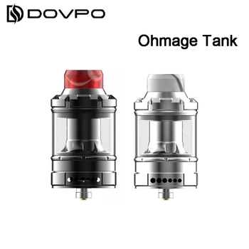 Original Dovpo Ohmage Sub Ohm Tank 5ML Atomizer adjustable airflow with 0.16ohm mesh coil Vaporizer for E Cigarette Box Mod Vape