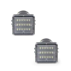 Image 2 - QCDIN For TOYOTA LED License Plate Lamp White 12V 6000K For TOYOTA Tacoma 2016 2019 Tundra 2014 2019 Number Lights Signal Lights