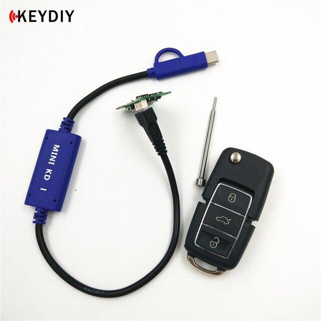 KEYDIY generador de mando a distancia Mini KD, dispositivo generador de mando a distancia, almacén en tu teléfono, compatible con Android, hace más de 1000 mandos a distancia automáticos