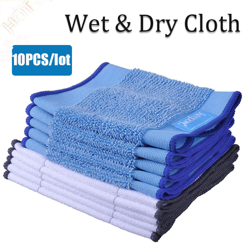 Microfiber Wet And Dry Dweeping Pro-Clean Mopping Cloths For Robot Irobot Braava Minit 4200 5200 5200C 380 380t