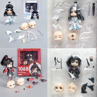 In Lager Nendoroid 1109 1068 Anime Großmeister von Dämonische Anbau Lan Wangji Wei Wuxian Action Figure Collect Spielzeug Geschenk