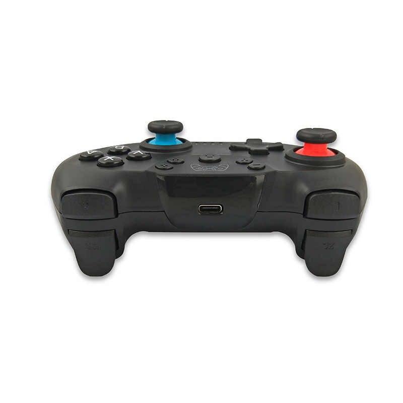 Untuk Switch Pro Nirkabel Bluetooth Controller untuk Animal Crossing Gamepad Splatoon2 Nintend Switch Konsol Switch Joystick Lite