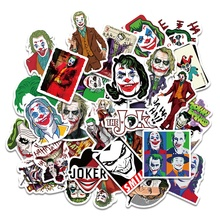 10/30/50PCS Joker Anime Stickers Cartoon Clown Style For Case Laptop Motorcycle Skateboard Luggage Decal Children Toy Kid Gift 50pcs newly movie it chapter two joker anime sticker cartoon for skateboard guitar laptop luggage furnitur decal toy stickers