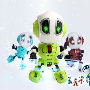 Kids Robot Toy Talking Interactive Voice Controlled SensorToy interactive toys dog action figure for children face change recording voice change smart robots voice control educational interactive toys rc robots for children kids