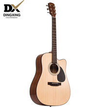 Professional Acoustic guitar 41 inch Spruce top Solid Wood guitarras china OEM brand(China)
